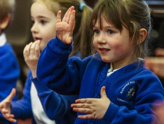 Music and Makaton at Richmond Hill Primary Academy