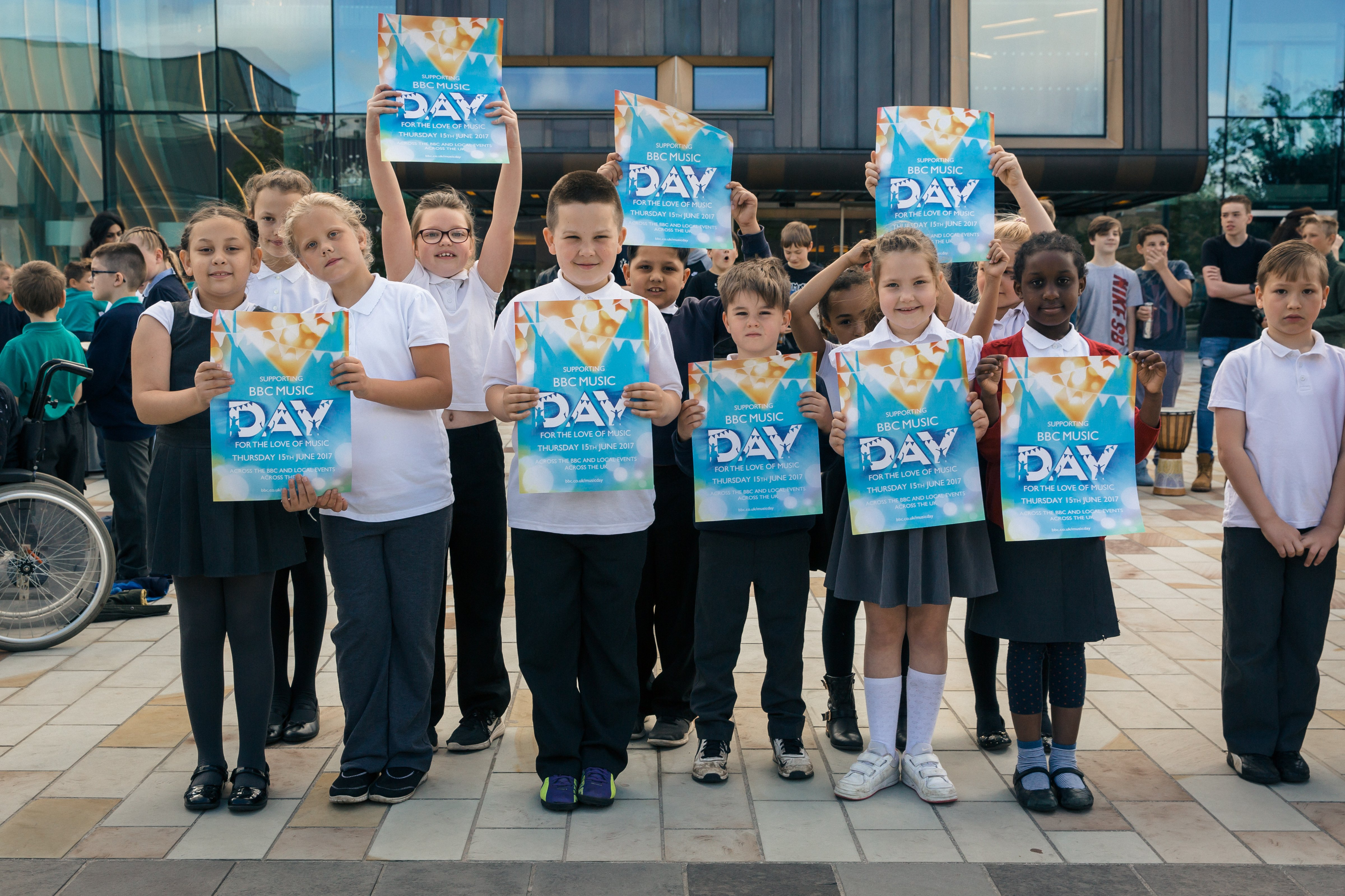 Over 1500 Doncaster pupils celebrate BBC Music Day