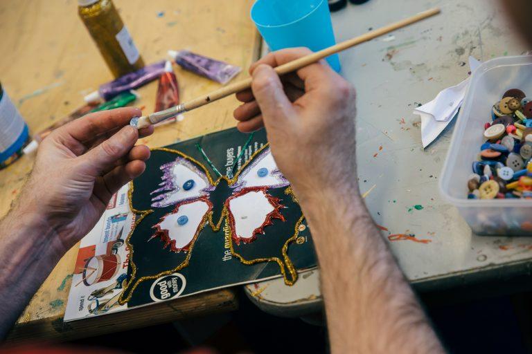 Graham: volunteering with Creative Directions